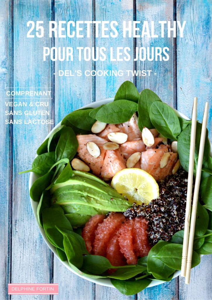 e-book 25 recettes healthy